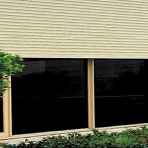 Roller Shutters on Window Plant - Aus-Secure