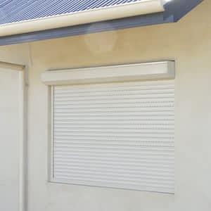 Roller Shutters on Window - Aus-Secure
