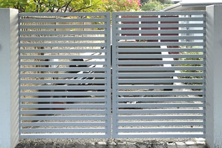 Aluminium Slat Gates by Aus-Secure