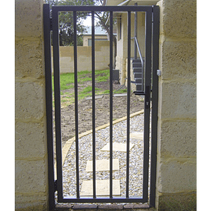 Pedestrian Steel Gate - Aus-Secure