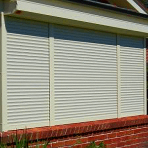Quality Roller Shutters on Home - Aus-Secure