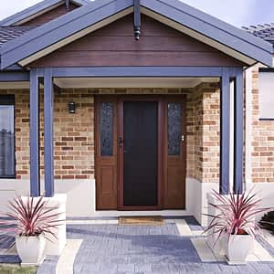Clearshield Stainless Steel Security Doors Front Door - Aus-Secure