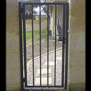 Pedestrian Steel Gate - Aus-Secure