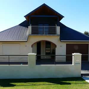 House with Roller Shutters - Aus-Secure