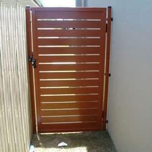Wooden Pedestrian Gate - Aus-Secure