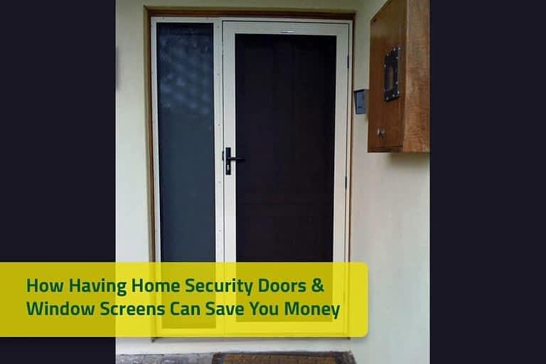 Security Doors & Window Screens by Aus-Secure