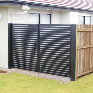 Security Gates Perth - Grille in Backyard of House - Aus-Secure