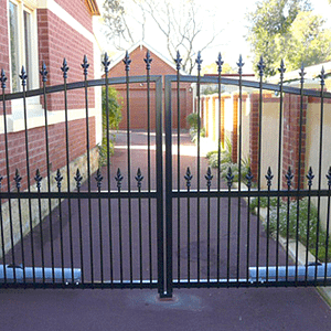 Hinged Steel Gate - Aus-Secure