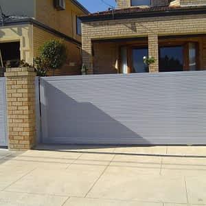 Panel Gate and Pedestrian Gate - Aus-Secure
