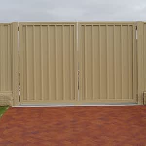 Colorbond Fence and Gate - Aus-Secure