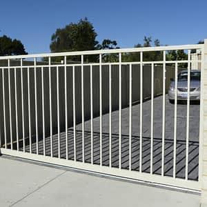Aluminium Driveway Gate - Aus-Secure