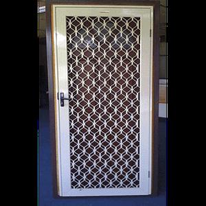 Diamond Grille Security Door - Aus-Secure