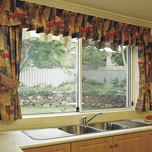 Security Window in Kitchen -Aus-Secure